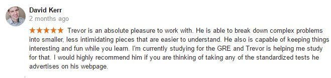 Dave Kerr Google review
