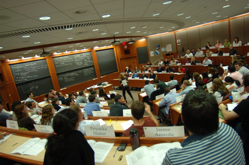 Harvard business school, where many a boston gmat tutor comes from