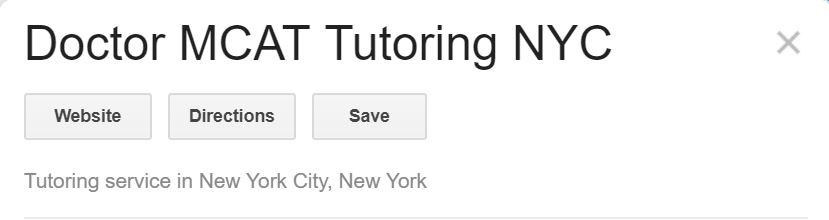 doctor mcat tutoring reviews