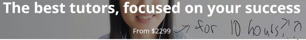 Kaplan GRE tutoring price